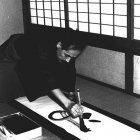"Writing ""Kami"" (Divine Spirit)"