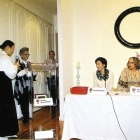 Receiving 1st Circle award in the Women leaders summit, 2010