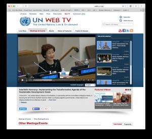 un web screen shot
